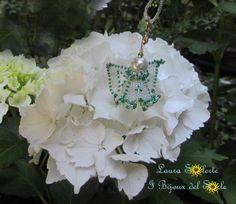 #ciondolo #gioielli #LauraSolerte#handmadejewelry #jewelry #pendant #babybirth#babybirthjewelry #angel #ibijouxdelsole
