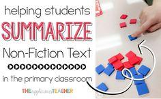 Summarizing in the Primary Classroom