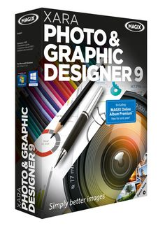 MAGIX has launched Xara Photo & Graphic Designer v9 editing software, with lots of useful new photo editing features!