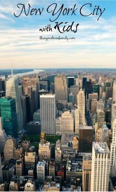 Travel - New York City with KIDS!