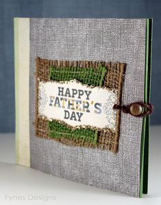 Unique Father's Day gift- a card that holds 6 gift cards for things for dad and kids to do together- zoo, ice cream, park, movies etc. Tutorial how to make the card included!