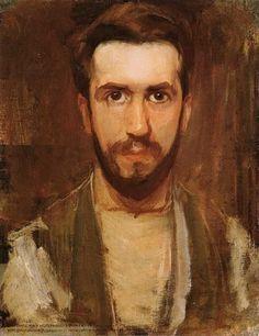 Auto-retrato. Óleo sobre tela. 1900. Pieter Cornelis Mondriaan (1872–1944). Encontra-se na The Phillips Collection. Fotografia: www.abcgallery.com.