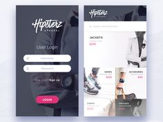 Clothing Store –  User interface by @vncatalin #concept  http://www.ios.uplabs.io/posts/clothing-store …