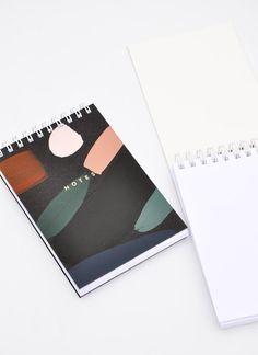 Paintstroke Mini Spiral Notepad