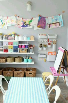 The Simplest Way to Display Your Kids\' Art! | Pinterest | Display ...