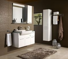 Bathroom Accessories, Home Accessories, Decorating Blogs, Bathroom Furniture, Double Vanity, Tub, Living Spaces, Sweet Home, Interior Design