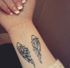 small angel wings tattoo on wrist this would be great for any of rh pinterest com angel wing tattoos tiny angel wing tattoo designs small