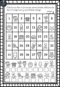 Las series numéricas fichas para trabajar - Imagenes Educativas 1st Grade Math Games, First Grade Worksheets, Kindergarten Math Worksheets, School Worksheets, Preschool Curriculum, Math Activities, Preschool Writing, Numbers Preschool, Math Numbers