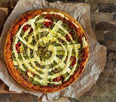 deep dish pizza quiche vegan 2