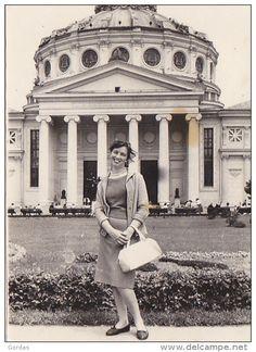 Romania- Atheneul Roman - 1961 - foto 80x110mm. delcampe 320138823.