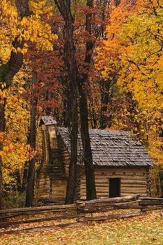 Cabin in Bushy Run Battlefield. Harrison city, Pa.