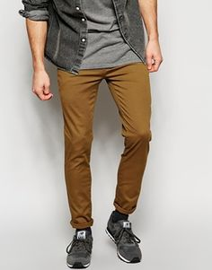 River Island Skinny Chinos at asos.com aa3f42a6b5eef