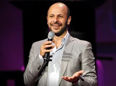 """A founding member of the Axis of Evil Comedy Tour, standup comic Maz Jobrani riffs on the challenges and conflicts of being Iranian-American -- """"like, part of me thinks I should have a nuclear program; the other part thinks I can't be trusted . Maz Jobrani, Muslims In America, Iranian American, Everybody Talks, American Video, Stand Up Comedians, Great Videos, Ted Talks, Entertainment"""