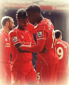 via Twitter. Opening 2014-15 match at Anfield. 17.08.2014 -v- Southampton.  Liverpool win 2-1