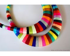 Hey, I found this really awesome Etsy listing at https://www.etsy.com/listing/217745585/statement-necklace-multicolor-necklace