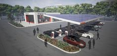 Tesla has been talking about adding solar arrays and batteries to its Supercharger stations ever since announcing the fast-charging network in 2012. But only half a dozen stations or so out of the …