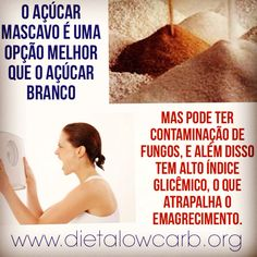 #açúcar #açúcarmascavo #indiceglicemico #emagrecimento #dieta #lowcarb #DietaLowCarb #foconadieta