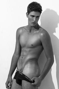 Phelipe Vergara by Sergio Baia for Brazilian Male Model Magazine | Men and underwear