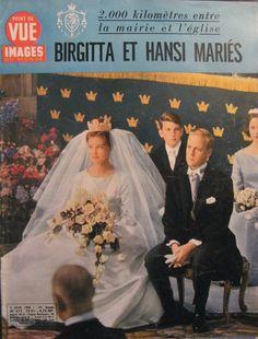 n°677 du 2 juin 1961 : mariage de la princesse Birgitta de Suède et du prince Johan Georg de Hohenzollern