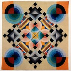 """Nancy Crow, """"February Study II"""", 1979. If you like this, the book """"Nancy Crow: Quilts and Influences"""" (1989) is wonderful! #westcoastcraftinspiration"""