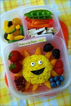 Bentos on the Bayou: You Are My Sunshine @EasyLunchboxes #bento #lunchbox