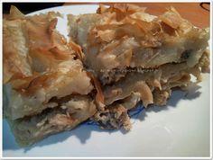 Η απόλαυση της βρώσης ~ Ας μαγειρέψουμε: Μανιταρόπιτα υπέροχη και... θερμιδομετρημένη