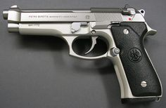 Beretta 92 something. I think...