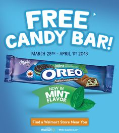 #ad  Check out today's blog post and use the store locator to find where you can get incredible OREO Mint Chocolate Candy Bars from Walmart Rollback for only $1 and a free candy bar  #OREOChocolate #SoFabfood @Oreo @Walmart