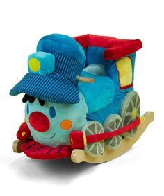 Take a look at the Trax the Train Rocker on #zulily today!