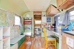 Vintage Airstream in East Austin, T