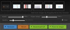Application web Open Source pour la création de GIFs animés en ligne - http://twit.lu/fa
