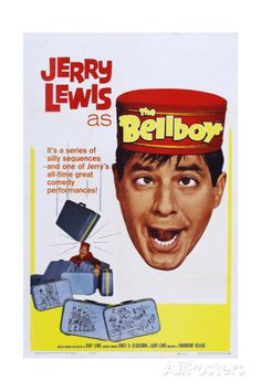 The Bellboy, Jerry Lewis, 1960 Prints at AllPosters.com