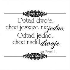 Stempel napis - tekst Ślubny CraftyMoly