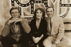 Charles Nelson Reilly, Brett Somers, and Gene Rayburn