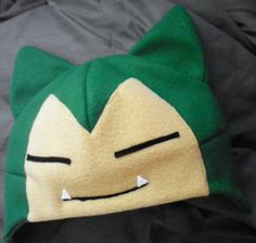 Pokemon Snorlax Hat. $25.00, via Etsy.
