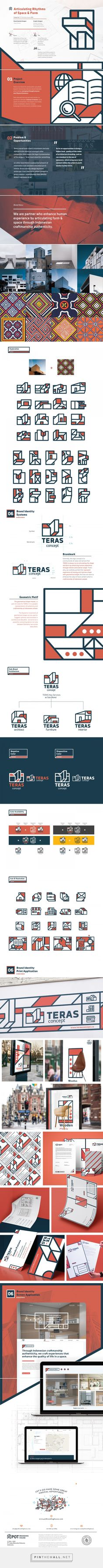 Teras Brand Identity System on Behance - created via https://pinthemall.net