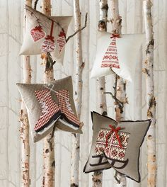 Do it yourself Christmas pillow covers