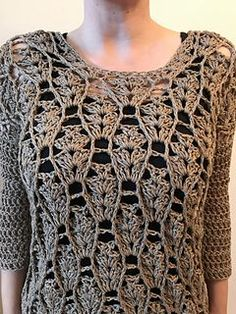 Ravelry: Tunney's Pasture Tunic pattern by Jennifer Ozses