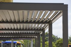 Pergola Profils Systèmes  Crédit photo : Richard Sprang http://www.afd-verandas.com