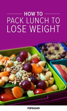 These techniques ensure that the lunch you're taking the time to pre each day helps get you close to your weight-loss goals.