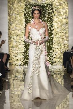 Reem Acra, Bridal Fashion Week, Look 4: