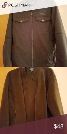 d8d042bbaad2 Marmot Coat (Men Adult Medium) Grey Marmot winter coat. Medium weight. Not
