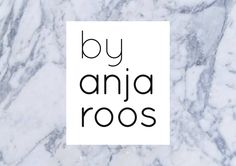 Logo for 'by anja roos' | Graphic Design by Floor Winter
