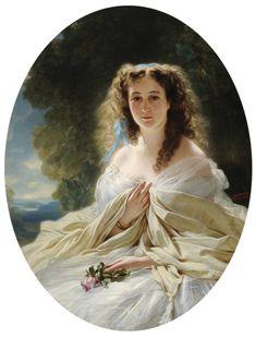 Baryatinskay by Winterhalter - Category:Female portraits by Winterhalter - Wikimedia Commons
