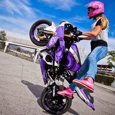 women riding a motorcycle - Google Search