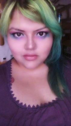 Arcoiris maquillaje #makeup #pony #raimbowmakeup #eyes #colors #lips💋