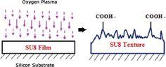 BioMEMS and microfluidic applications through SU-8 Surface Modification