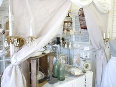 The Vintage Farmhouse  Hortons, French, Flea Market, Booth space