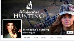 Ban Michaela Michaelka Fialova from Africa and shut down her Facebook page promoting trophy hunting as being a glamorous thing to do!