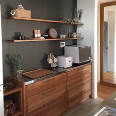 tSaさんの、Kitchen,無印良品,キッチン,ディスプレイ,新居,シンプル,ポーターズペイント,トーヨーキッチン,シンプルライフ,ウッドワンについての部屋写真